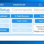Download WinDroid Toolkit para desbloquear, Root e Flash Recovery 3