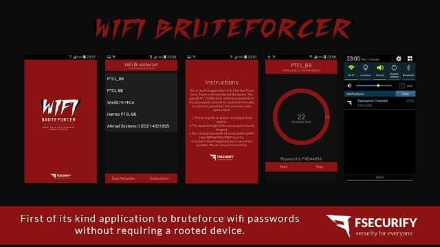 Como descobrir senhas redes WiFi via Brute Force